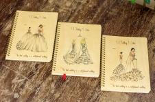 фото 4241  Свадебный блокнот в стиле Рустик цена, отзывы
