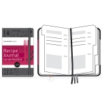 фото 6001  Записная книжка Moleskine Recipe Journal средняя черная цена, отзывы