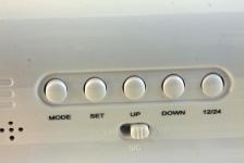 фото 1155  Будильник с проекцией и Датчиком звука цена, отзывы
