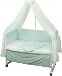 фото 9322  Набор детский в кровать Люкс с вышивкой цена, отзывы