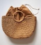 фото 25624  Соломенная сумка с ручками Сен-Лоран цена, отзывы
