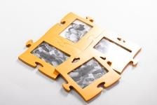 фото 1492  Фоторамки-пазлы (цвета в ассортименте) цена, отзывы