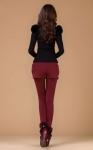 фото 4303  Леггинсы утепленные с шортами красные цена, отзывы