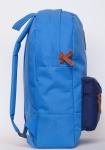 фото 8082  Рюкзак GiN Bronx голубой с синим карманом цена, отзывы