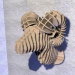 фото 8564  Интерьерная голова овна 3D пазл цена, отзывы