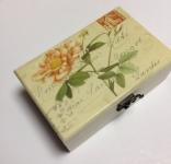 фото 2907  Шкатулка ретро роза прямоугольная цена, отзывы