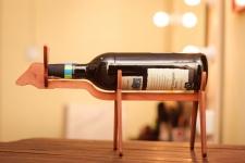 фото 8537  Подставка для бутылки в форме Быка цена, отзывы