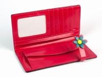фото 8785  Женский кошелек Счастливая Божья Коровка розовый цена, отзывы