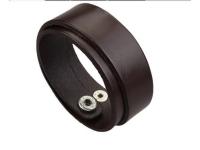 фото 9411  Антический кожаный браслет Barnaby цена, отзывы