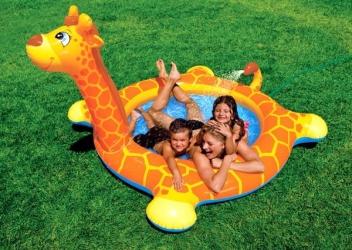 купить Детский бассейн Жираф (Intex) цена, отзывы