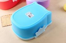 фото 8579  Детский ланч бокс Bento Совушка Синий цена, отзывы