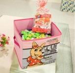 фото 23817  Короб складной для детских игрушек Кенгуру розовый цена, отзывы
