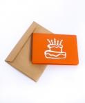 фото 9631  Объемная открытка С днем рождения оранж цена, отзывы