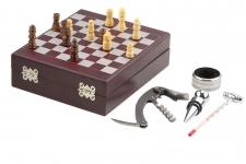 фото 4256  Винный набор с шахматами 15 см цена, отзывы