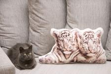 фото 3619  Подушка Тигры цена, отзывы
