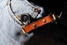 фото 9449  Кожаные браслеты для пар + ключница цена, отзывы