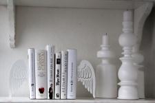 фото 10095  Держатель для книг Крылья ангела цена, отзывы