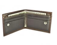 фото 4107  Мужской кошелек зажим кожа Форио цена, отзывы