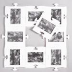 фото 1490  Фоторамки-пазлы (цвета в ассортименте) цена, отзывы