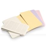 фото 6101  3 блокнота Moleskine Cahier маленьких пастельных цена, отзывы