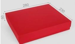 фото 23680  Подарочная коробка Red 28х23х5 см цена, отзывы