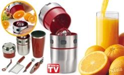 фото 2098  Ручная соковыжималка Pro V Juicer+ шейкер и набор для украшения блюд цена, отзывы
