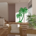 фото 5740  Виниловая Наклейка Palm Tree цена, отзывы
