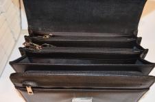 фото 1481  Барсетка кожаная мужская Black цена, отзывы