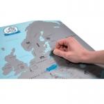 фото 22997  Скретч карта Европы  цена, отзывы