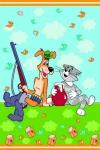 фото 9122  Полотенце махровое детское Непоседа Союзмультфильм 100х150 см цена, отзывы