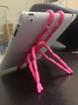 фото 8251  Spider подставка под планшет Розовая цена, отзывы