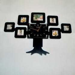 купить Фоторамка с часами Семейное дерево цена, отзывы