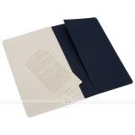 фото 6099  3 блокнота Moleskine Cahier средних синих цена, отзывы