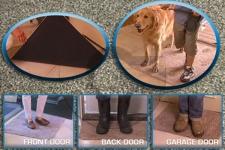 фото 2077  Супервпитывающий дверной коврик Clean Step Mat  цена, отзывы