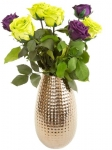фото 3152  Три долгосвежих розы Фиолетовый аметист в подарочной упаковке (не вянут от 6 месяцев до 5 лет) цена, отзывы