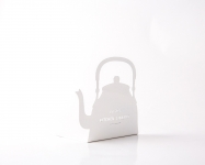 фото 9880  Держатель для книг Чайник белый цена, отзывы