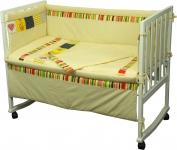 фото 9299  Набор постельного белья в детскую кроватку цена, отзывы