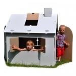 фото 25739  Картонный домик раскраска  цена, отзывы