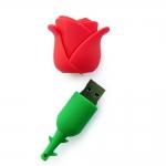 фото 4554  Флешка 8 Gb силиконовая Роза цена, отзывы