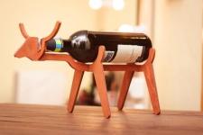 фото 8538  Подставка для бутылки в форме Быка цена, отзывы