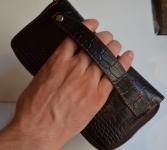 фото 1533  Кожаный клатч мужской ручной m012 цена, отзывы