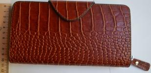 фото 1538  Кожаный клатч мужской ручной m013 цена, отзывы