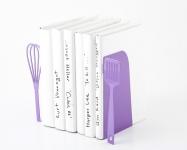 фото 9916  Держатель для книг венчик и лопатка фиолетовая цена, отзывы
