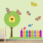 фото 5861  Наклейка Детская Garden цена, отзывы