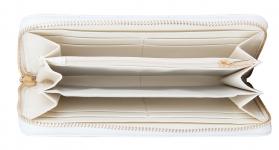 фото 10273  Кошелек кожаный Артемида белый цена, отзывы