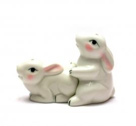 купить Солонка с перечницей Кролики цена, отзывы