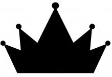 фото 3465  Наклейка Корона цена, отзывы