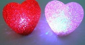 фото 476  Светильник кристальны сердце (CRYSTAL ) цена, отзывы