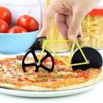 фото 25088  Нож для пиццы Велосипед желтый цена, отзывы