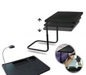 фото 2706  Складной стол с лампой Мy Вedside Тable цена, отзывы